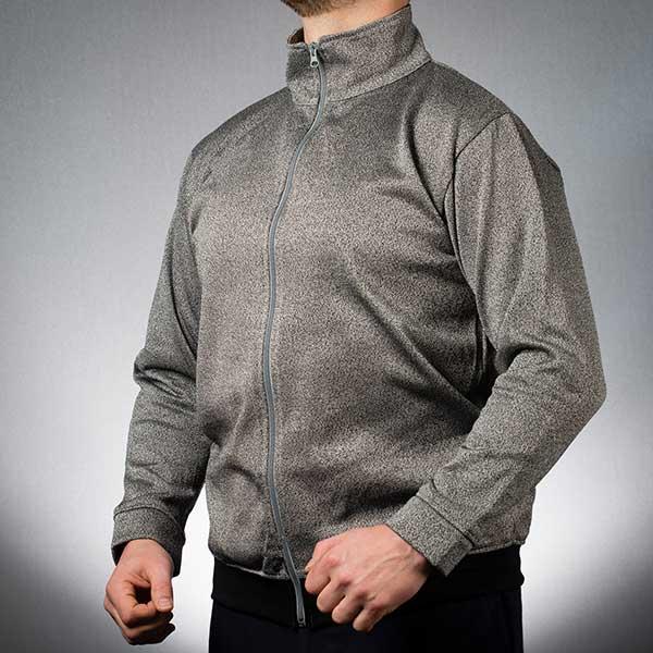 Slash resistant turtleneck jacket